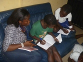 Studying with Ifeoma