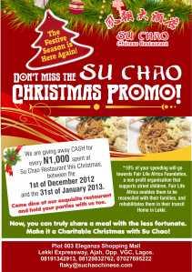 The Su Chao Promo!!!