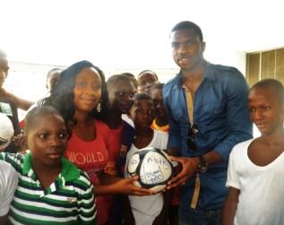 Joseph Yobo Visits FLA