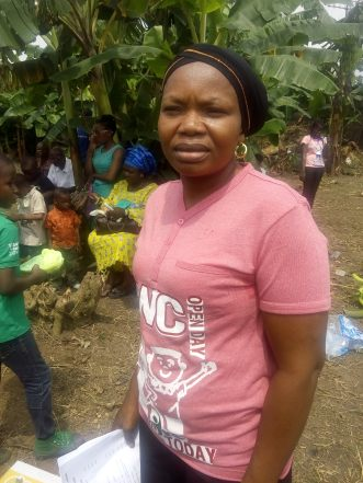 Mrs Afusat Alausa humbly serving her country