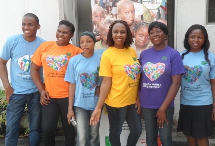 Emeke Ndego (Administrator), Njay Raleke-Obiora (Ambassador!), Nishola Akinyera (Programme Facilitator), Ufuoma E-Ashobgon (CEO), Gift Solomon (Office Assistant) and Ifeoma Keke (Social Worker)