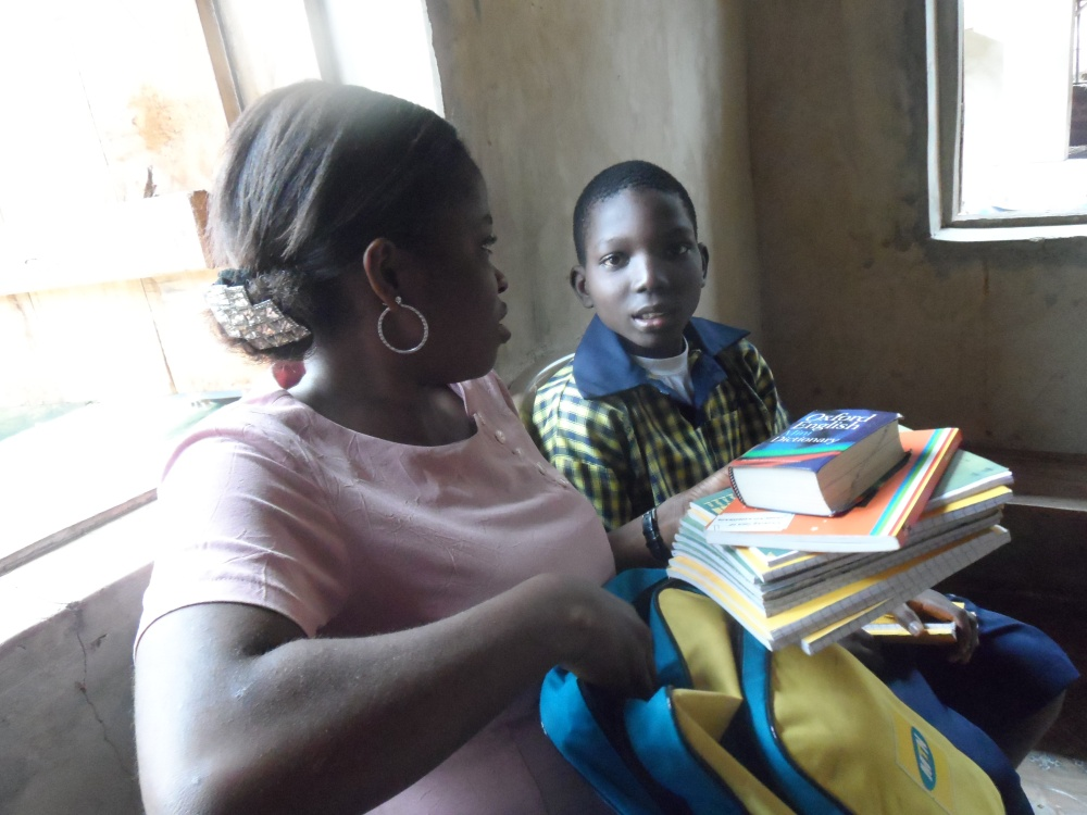 Our social workers travelled as far as Ondo State to reconcile children with their families, and settle them back in school.