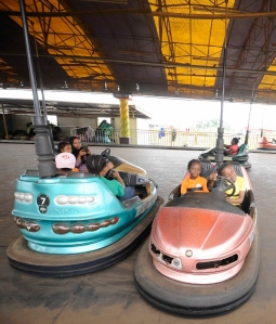 Bumper cars at Dreamworld Africana