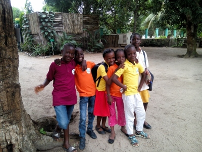 Happy children at Fair Life Africa