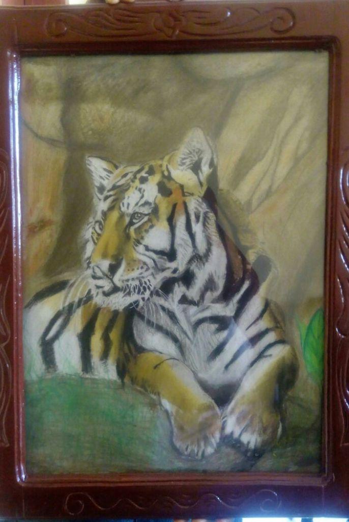 ramons-tiger-painting
