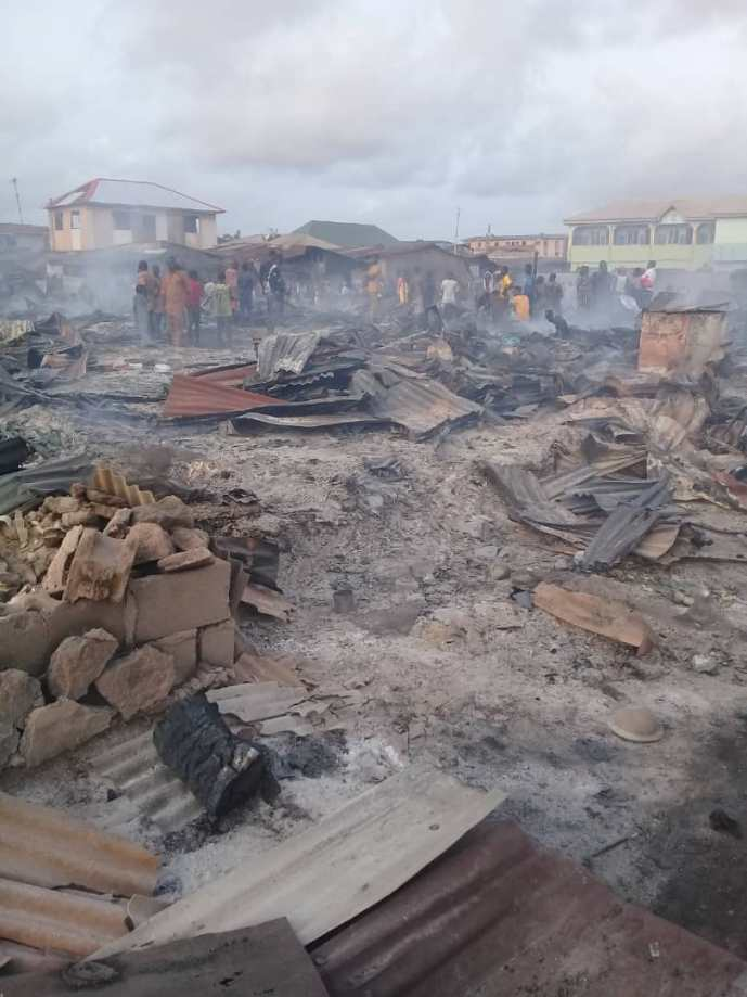 Tragedy at Dustbin Estate, Ajegunle, in the Midst of a Pandemic